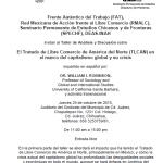 Taller de Análisis y Discusión sobre  El Tratado de Libre Comercio de América del Norte (TLCAN) en el marco del capitalismo global y su crisis