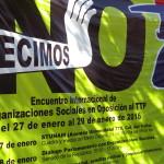 Declaraciones Encuentro Internacional de Organizaciones Sociales en Oposición al Tratado de Asociación TransPacífica (TPP)