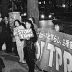 Movilización en Japón contra el TPP